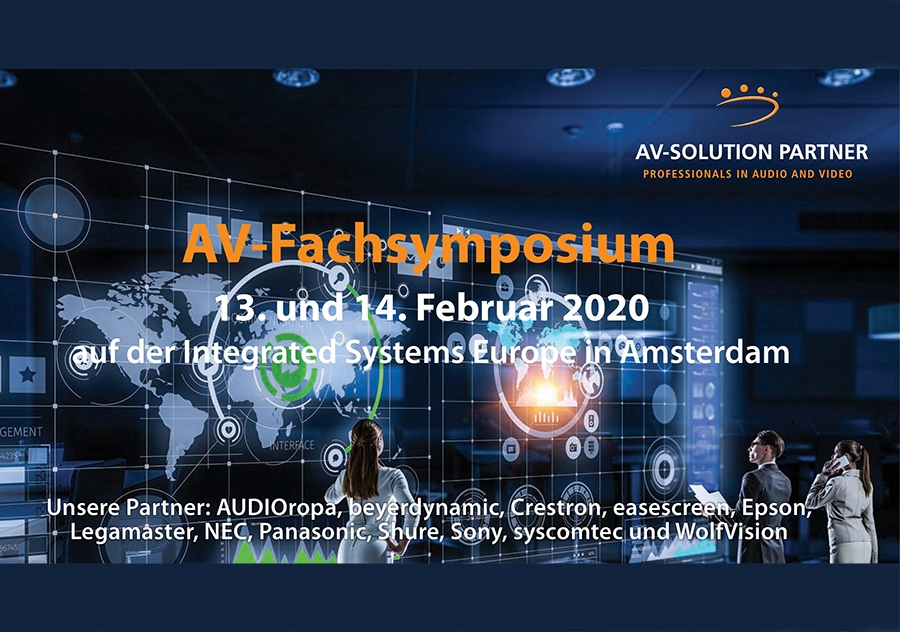 Einladung AV-Fachsymposium 2020