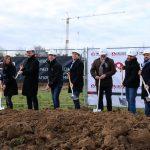 Der erste Spatenstich am Neubau der multi-media systeme AG