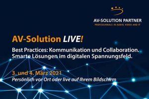 AV-Solution Live! 2021
