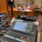 Technik bei der Christmette in der Heilig Geist Kirche Daxlanden 2020