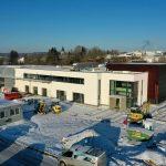 Neubau mmsAG Haupteingang 11.02.2021