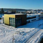 Neubau mmsAG Straßenansicht 11.02.2021