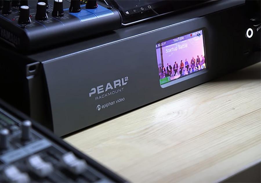 Pearl-2 Rackmount Encoder für Live-Streaming, Aufzeichnung und Live-Mischen