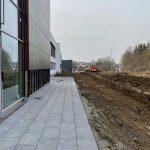 Neubau multi-media systeme Außenanlage
