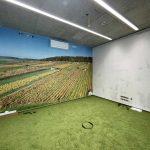 Besprechungsraum mit Fototapete im Neubau der multi-media systeme AG