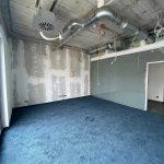 Neubau der multi-media systeme AG mit neu verlegtem Teppichboden