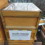 Der Bienenstock von der multi-media systeme AG in Kitzbühl im April 2021