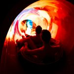 Beleuchtung Rutsche Rulantica Europa-Park in Rust