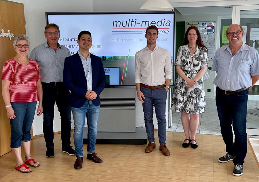 Die multi-media systeme AG spendet Touch-Display